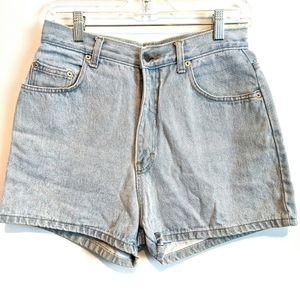 Vintage high waisted mom shorts